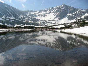 Musala Peak 2925 m - the highest on The Balkan Peninsula