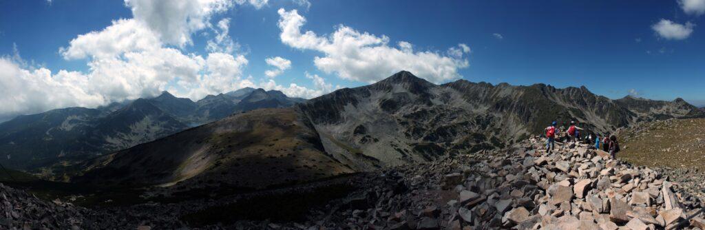 Панорама от връх Безбог